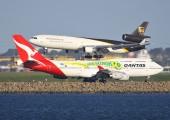 VH-OJS - QANTAS Boeing 747-400 aircraft