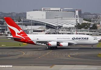 VH-OQF - QANTAS Airbus A380