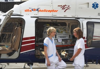 OK-AHB - Alfa Helicopter Bell 427