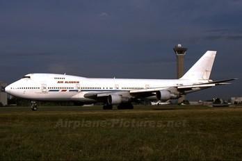 TF-ABQ - Air Algerie Boeing 747-200