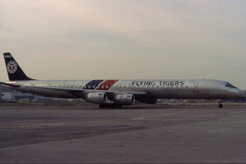 N706FT - Flying Tigers Douglas DC-8-73F
