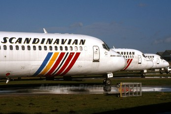 SE-DOK - SAS - Scandinavian Airlines Douglas DC-9