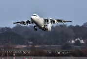 G-BZAT - British Airways - British Regional British Aerospace BAe 146-300/Avro RJ100 aircraft