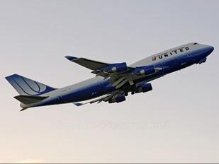 N173UA - United Airlines Boeing 747-400