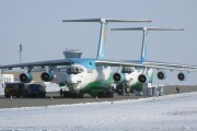 UK-76805 - Uzbekistan Airways Ilyushin Il-76 (all models) aircraft