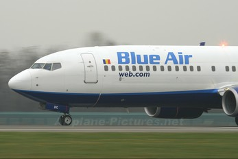 YR-BIC - Blue Air Boeing 737-800