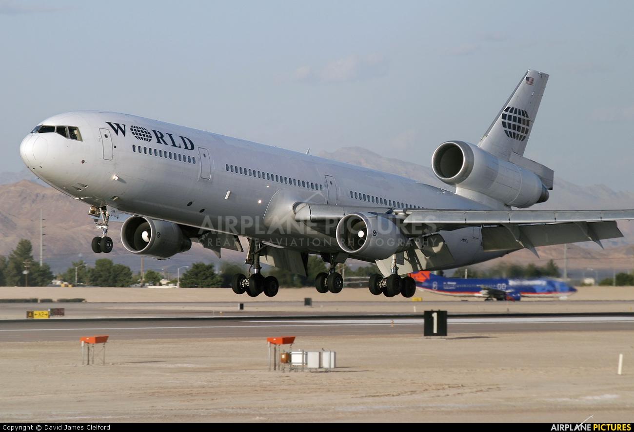 World Airways N279WA aircraft at Las Vegas - McCarran Intl