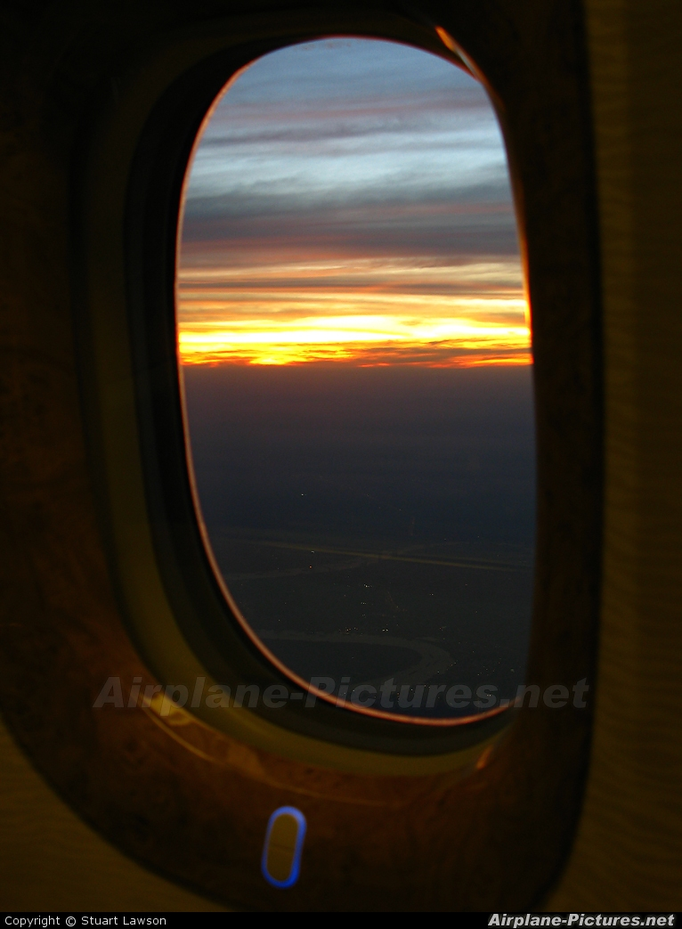 Emirates Airlines A6-ECV aircraft at In Flight - International