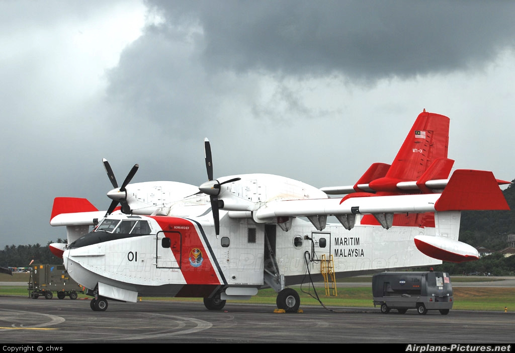 Malaysia - Maritime (MMEA) M71-01 aircraft at Langkawi