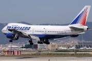VP-BQC - Transaero Airlines Boeing 747-200 aircraft