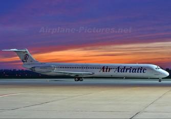 9A-CBF - Air Adriatic McDonnell Douglas MD-82
