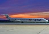 9A-CBF - Air Adriatic McDonnell Douglas MD-82 aircraft