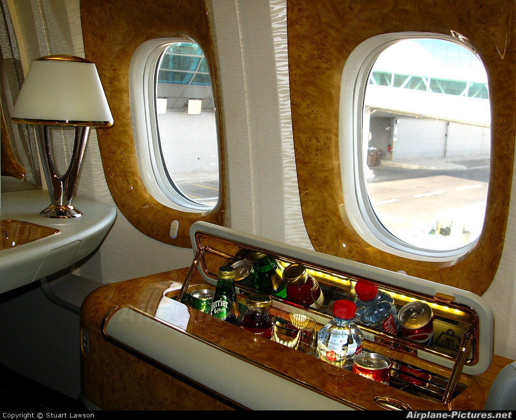 Emirates Airlines A6-ECV aircraft at Dubai Intl