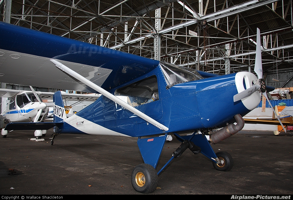 Private G-BYCV aircraft at Perth - Scone