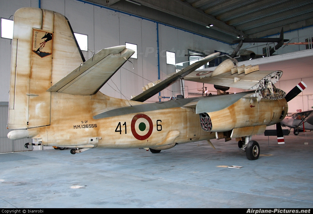 Italy - Air Force MM136556 aircraft at Vigna di Valle - Italian AF Museum