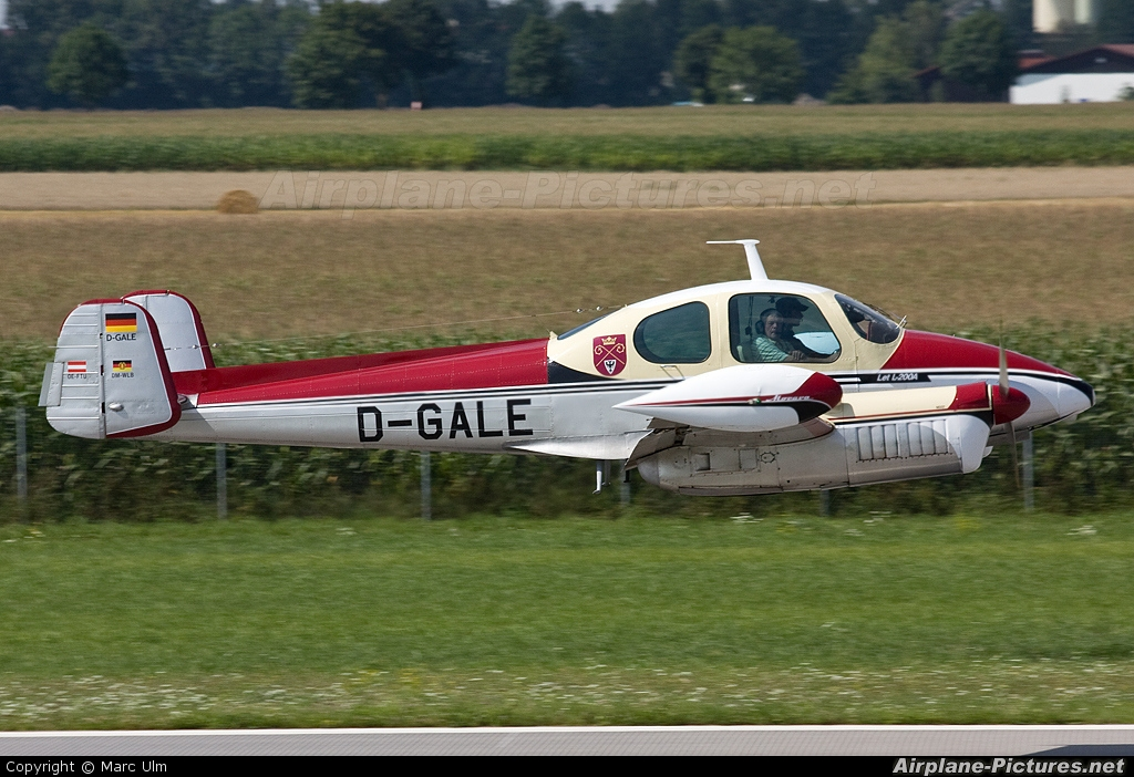 Private D-GALE aircraft at Augsburg