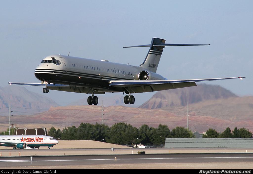 Private N721MM aircraft at Las Vegas - McCarran Intl