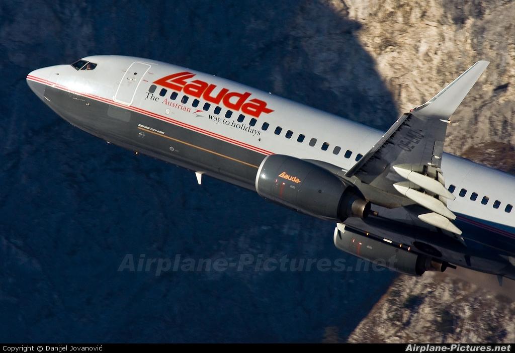 Lauda Air OE-LNJ aircraft at Innsbruck