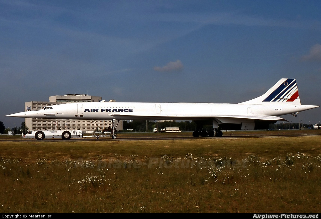 Air France F-BTSC aircraft at Paris - Charles de Gaulle