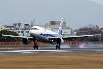 JA8396 - ANA - All Nippon Airways Airbus A320