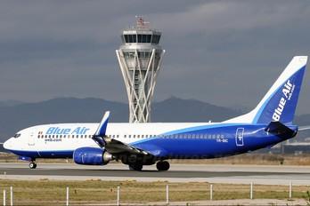 YR-BIC - Blue Air Boeing 737-800