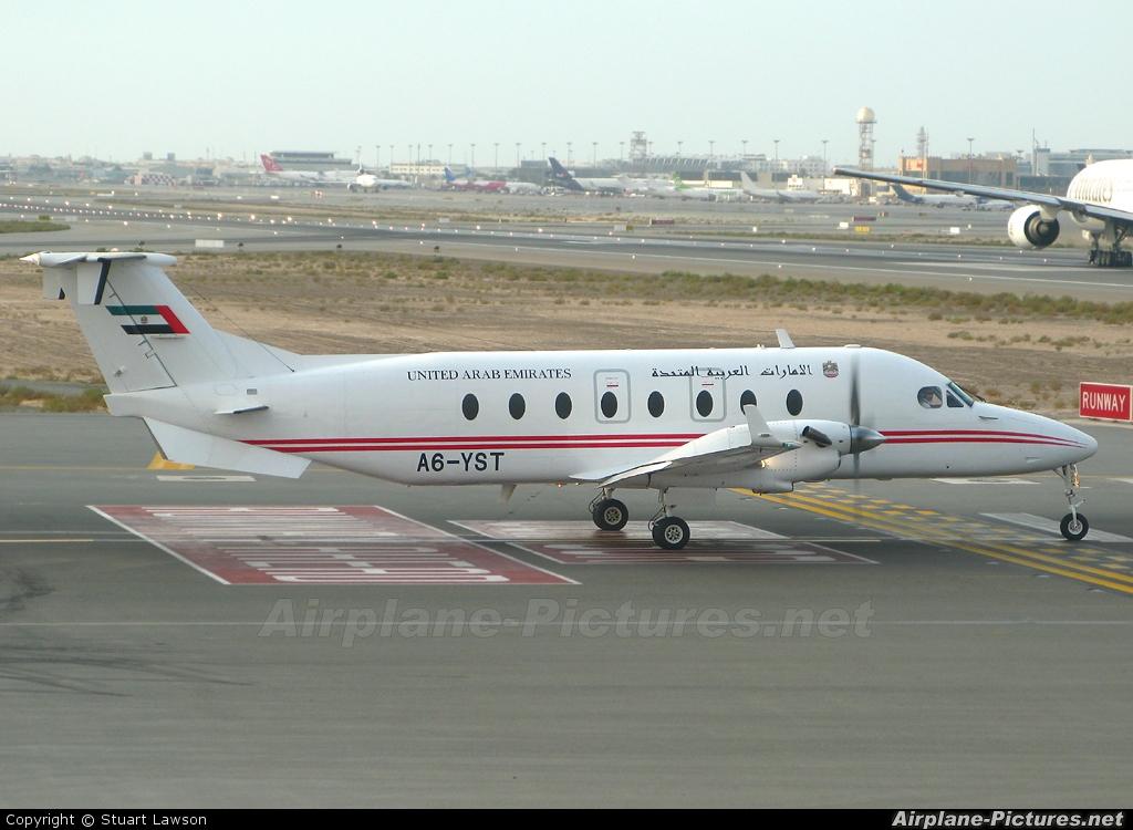 United Arab Emirates - Government A6-YST aircraft at Dubai Intl