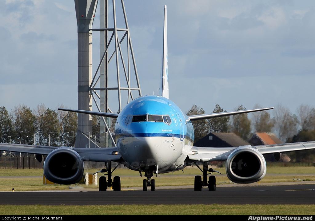 KLM PH-BTF aircraft at Amsterdam - Schiphol