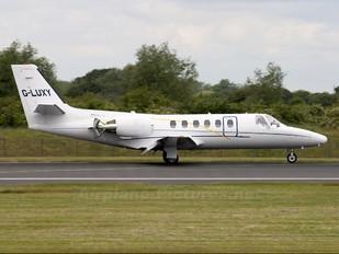 G-LUXY - Private Cessna 551 Citation II SP