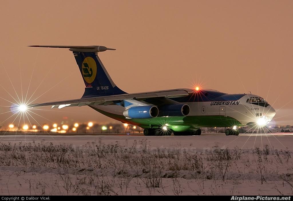 Uzbekistan Airways UK-76426 aircraft at Brno - Tuřany