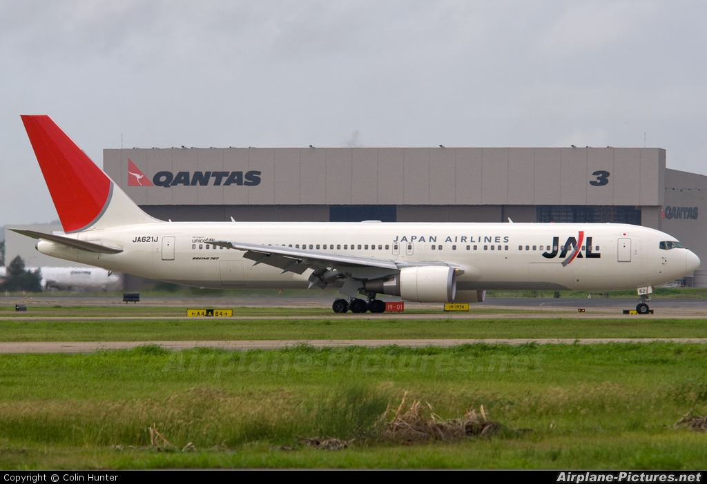 Jaj Jal Japan Airlines Boeing Er Brisbane Qld Photo Id Airplane