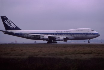 N749WA - Flying Tigers Boeing 747-200