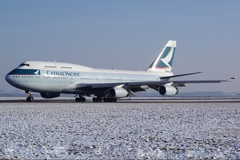 B-HOS - Cathay Pacific Boeing 747-400