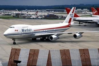 C-GXRA - Wardair Boeing 747-200