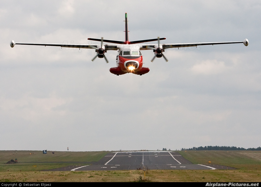 Polish Air Navigation Services Agency - PAZP SP-TPA aircraft at Gdańsk - Lech Wałęsa