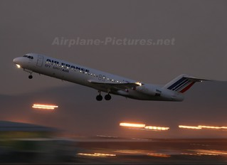 F-GPXE - Air France - Brit Air Fokker 100