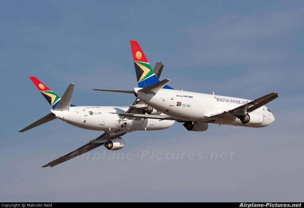 South African Cargo ZS-SBA aircraft at Swartkops