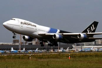 G-BDXH - European Aircharter Boeing 747-200