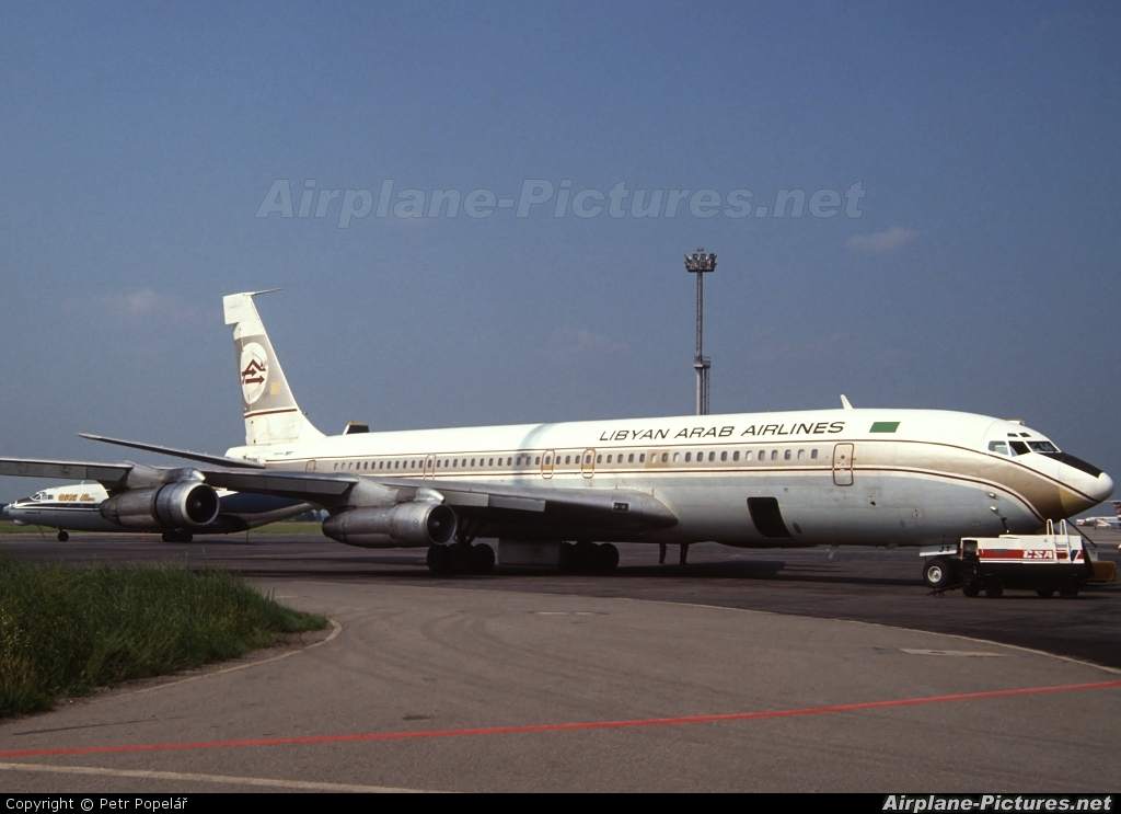 aircrafts, Airliner, Airplane, Army, Cargo, 707, Boeing ... |Libyan Airlines Cargo Boeing 707