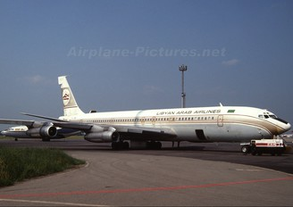 5A-DJT - Libyan Arab Airlines Boeing 707