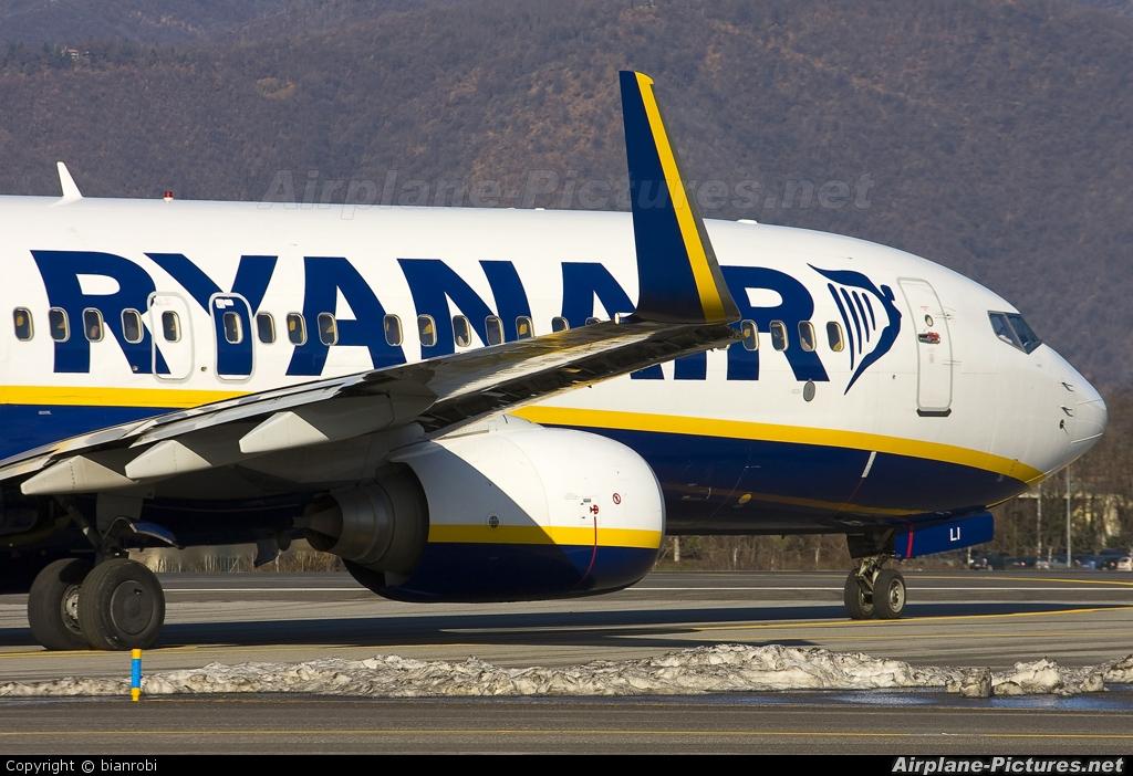 Ryanair EI-DLI aircraft at Bergamo - Orio al Serio