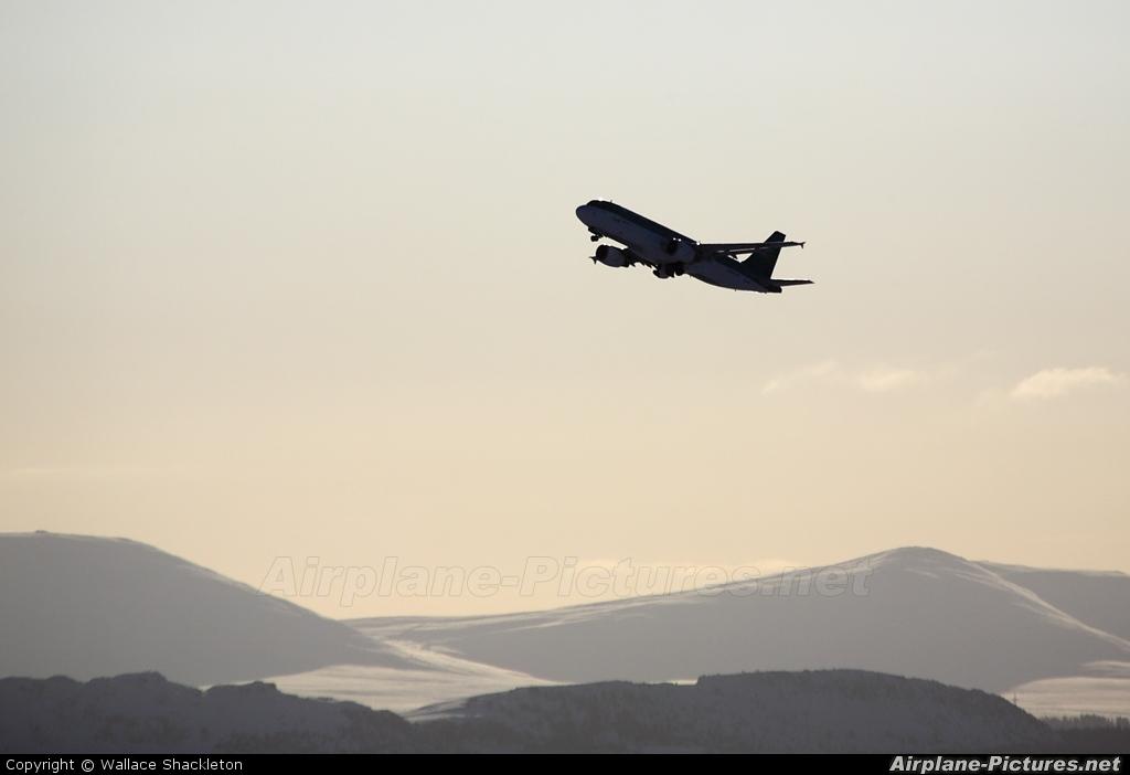 Aer Lingus - aircraft at Edinburgh