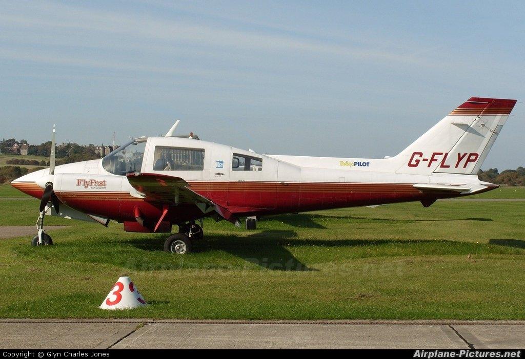 Private G-FLYP aircraft at Brighton - Shoreham