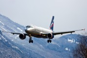 VP-BQW - Aeroflot Airbus A320 aircraft
