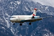 OE-LVI - Austrian Airlines/Arrows/Tyrolean Fokker 100 aircraft