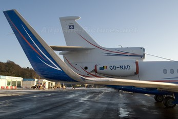 OO-NAD - Flying Group Dassault Falcon 7X