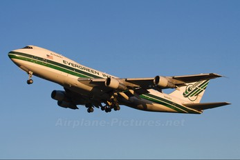N482EV - Evergreen International Boeing 747-200SF