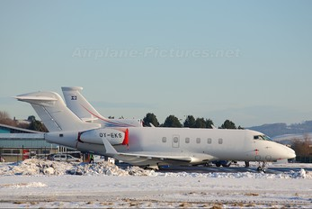 OY-EKS - Private Bombardier BD-100 Challenger 300 series