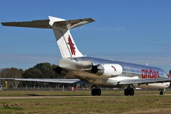 LV-BZR - Andes Lineas Aereas  McDonnell Douglas MD-87