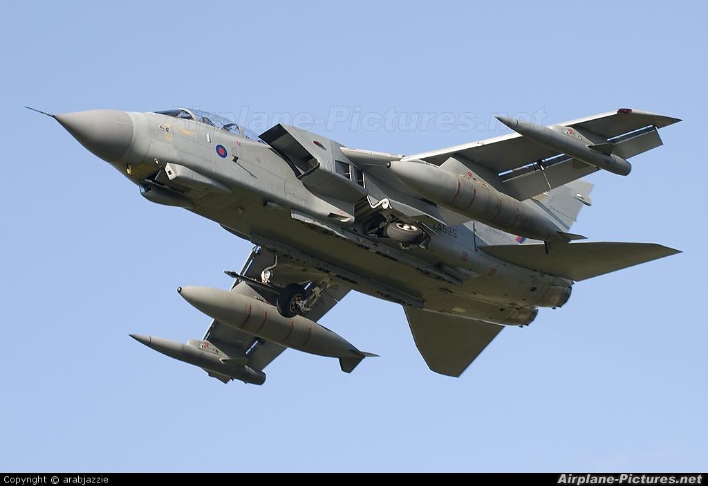 Royal Air Force ZA595 aircraft at Lossiemouth
