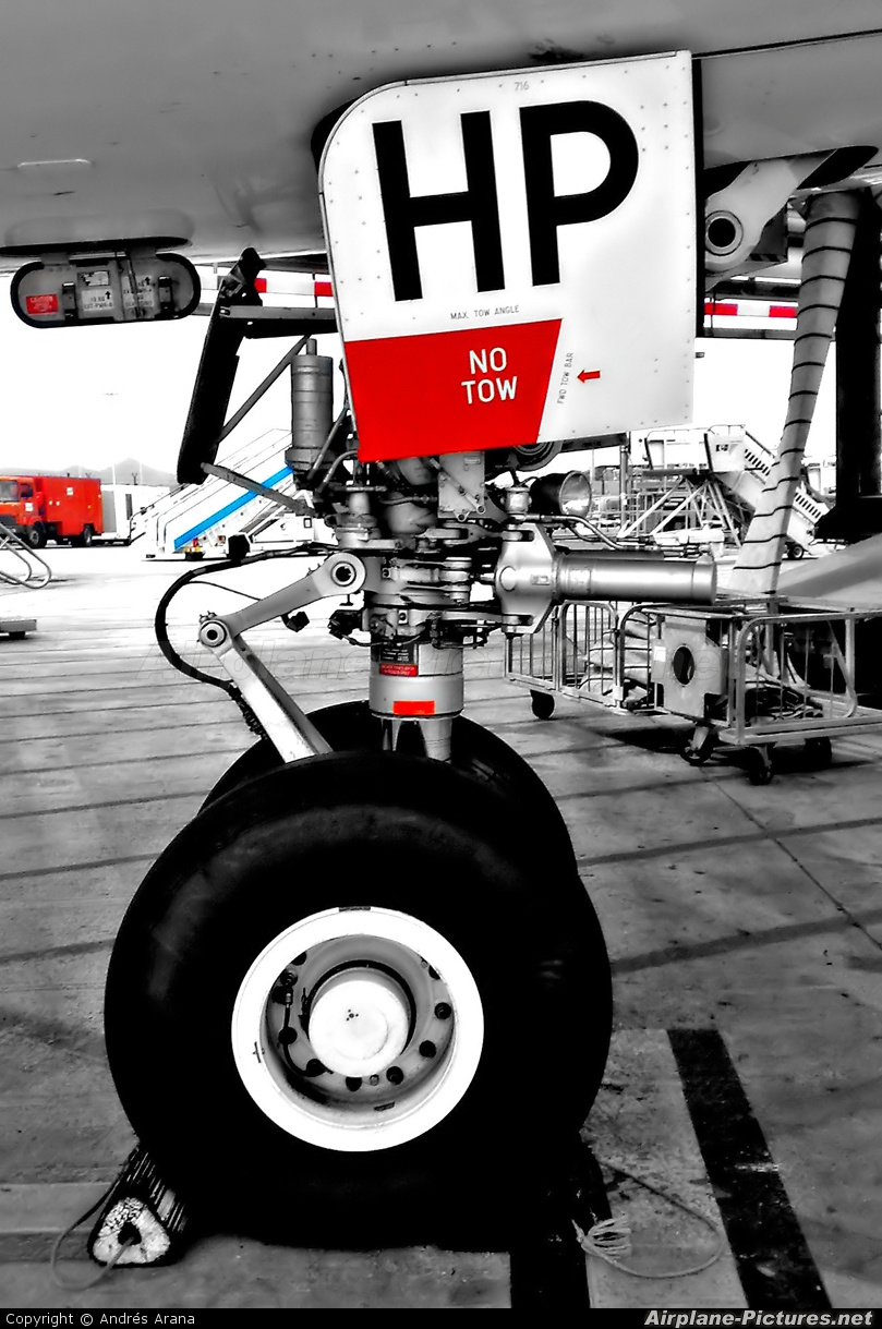 Iberworld EC-JHP aircraft at Barcelona - El Prat